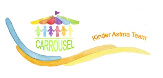 Logo Kinderastma carrousel