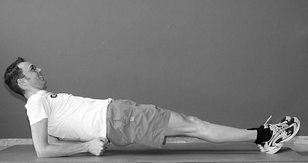 oefening 8 op rug liggend