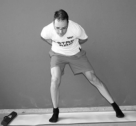 oefening 6 schaatsbeweging naar links