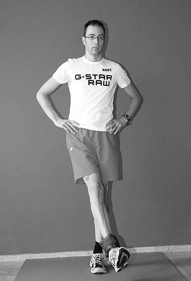 oefening 9 oefening enkelgewicht been voorwaarts